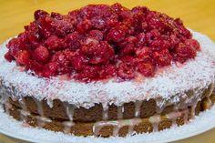 Raspberry Coconut Cake Recipe