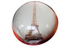 Crystal Eiffel Tower Paperweight on OneKingsLane.com