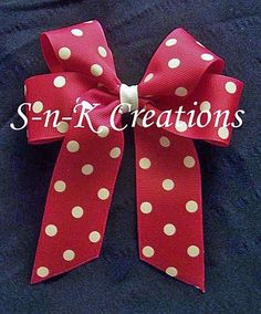 Free Hair Bows Instructions | How to make tails down bow | Craft Ideas