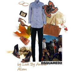 """""""Dsquared2"""" by Look By Amina Allam"""