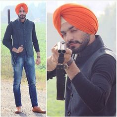 This dude is literally killing it with his ensemble.   21 Photos Of Dapper Sardars That Will Inspire You To Dress Better