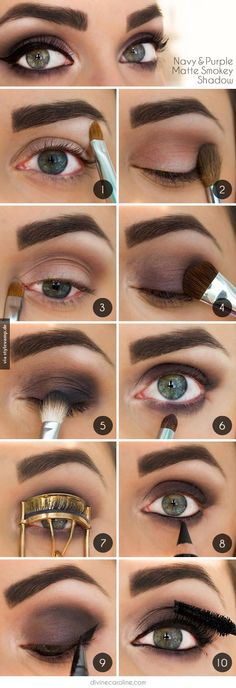 beautiful smokey eye make up                                                                                                                                                                                 Mehr