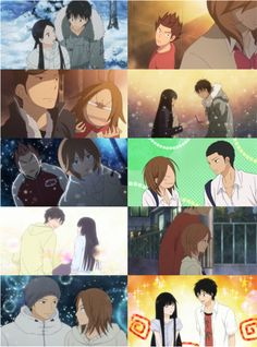 Day 19 - Your most ship-filled series: Kimi ni Todoke   This series has 3 of my otps, which I think is more than anything else.
