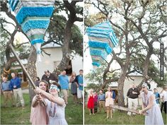piñata at wedding | VIA #WEDDINGPINS.NET