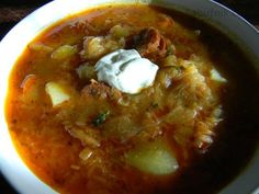 Czech Recipes, Ethnic Recipes, New Menu, Goulash, Food 52, Soups And Stews, Thai Red Curry, Chili, Food And Drink