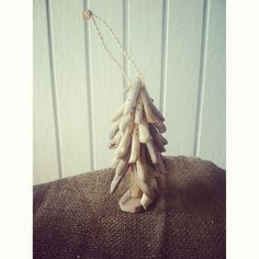 Driftwood Christmas Tree Ornament by MissBellaMaes on Etsy, $21.00