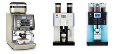 We definitely need one of these for the office... Bean to Machine - La-Cimbali Zoomin - WMF Prestolino