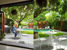 Patio Style– Expanding Your Residence Outdoors – Outdoor Patio Decor Outdoor Patio Designs, Pergola Designs, Outdoor Decor, Patio Ideas, Pergola Ideas, Garden Ideas, Backyard Ideas, Outdoor Spaces, Small Backyard Pools