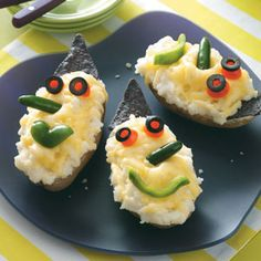 witch potatoes - these are too adorable! #recipe