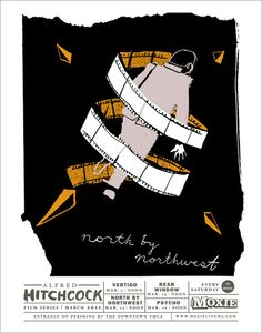 North by Northwest poster.