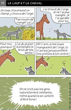 Fables D'esope, French Cartoons, Idioms, Learn French, Lesson Plans, Classroom, How To Plan, Comics, Learning