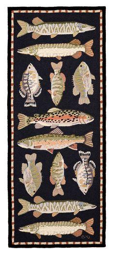 Freshwater Fish 2 1/2 x 6 1/2