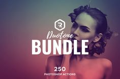 Duotone PS Actions Super Bundle  by RockShutter on @creativemarket