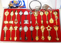 Fairy Tail Keychain Weapons Cosplay FLKY0501