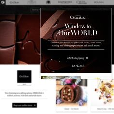 Discover award-winning chocolates and luxury chocolate gifts for any occasion at Hotel Chocolat. The ultimate chocolate shopping experience. Luxury Chocolate, Chocolate Gifts, Cocoa, Treats, Website, Sweet Like Candy, Goodies, Theobroma Cacao, Hot Chocolate