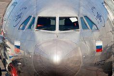 Russian wide-body close-up   Aeroflot Ilyushin Il-96-300 RA-…   Flickr