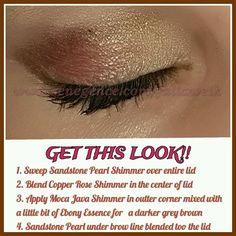 #SandstonePearl #MocaJava #CopperRose #ShadowSense #SeneGence #LongWearingMakeup #LipServiceByLaura