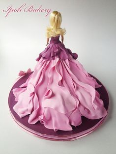 Barbie Doll Cake - by WilliamTan @ CakesDecor.com - cake decorating website