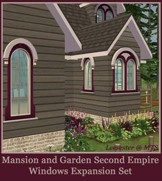 Mod The Sims - Second Empire Window Expansion Set