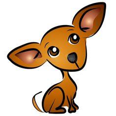 Cartoon Chihuahua Dog Clip Art Stock Illustration - Illustration of colors, illustrations: 2814896 Dog Clip Art, Dog Art, Dog Tattoos, Cat Tattoo, Dachshund, Painting Fur, Cartoon Dog, Cartoon Clip, Chihuahua Love
