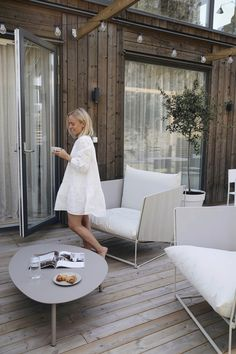 Ikea Outdoor, Dream Home Design, My Dream Home, House Design, Outside Living, Outdoor Living, Lounge Areas, Cottage Homes, New Room