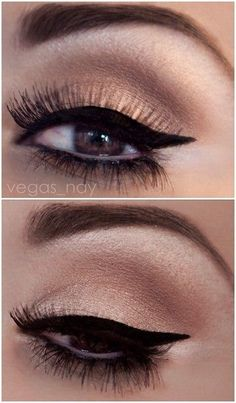 Do you want to cut back and look good? Well I have 12 of the greatest beauty methods in order to save you money at this time and they are all totally tried and tested by me. How To Do Eyeliner, Simple Eyeliner, Black Eyeliner, Winged Eyeliner, Eyeliner Makeup, Contour Makeup, Kiss Makeup, Love Makeup, Makeup Looks