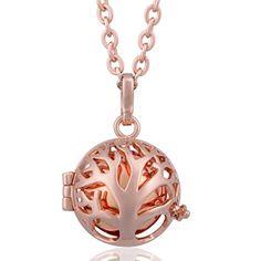 EUDORA Harmony Ball Family Tree Pendant Necklace & 18mm Angel Caller Chime Pendant-rose gold Eudora Harmony Bola http://www.amazon.com/dp/B01CNONWSM/ref=cm_sw_r_pi_dp_Pcs4wb12PB06T