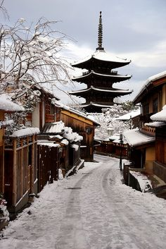 雪の法観寺 by nobuflickr on Flickr.