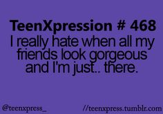 uhh when you go out and you feel like the guys like them more :S