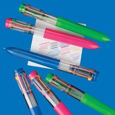 10 colour multi pens