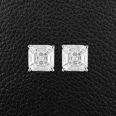 Illusion Diamond Earrings – CRAIGER DRAKE DESIGNS®