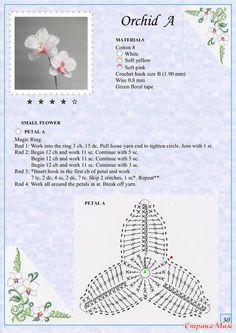 Crochet Amigurumi Flower Link 20 New Ideas Crochet Puff Flower, Crochet Flower Tutorial, Knitted Flowers, Crochet Flower Patterns, Unique Crochet, Love Crochet, Irish Crochet, Crochet Diagram, Crochet Motif