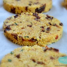 Ciasteczka z kaszy jaglanej: 100% zdrowia bez glutenu i cukru