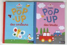 Livres pop-up des couleurs et des bruits