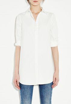 Simple Shirt - Women's shirt - The ultimate white shirt - White - MiH