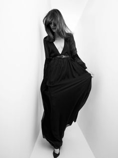 Pierre Balmain fall / winter 2012 look book Models: Adrien Sahores, Melissa Stasiuk