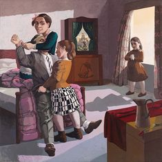 Paula Rego in 'All Too Human: Bacon, Freud and a Century of Painting Life' Paula Rego Art, Figure Painting, Painting & Drawing, Tamara Lempicka, Germaine Greer, Tate Britain, Royal Academy Of Arts, Galleries In London, A Level Art