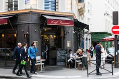 Restaurants near Le Bon Marche, Café Varenne, HiP Paris Blog, Photo by Carin Olsson 1