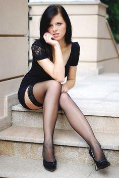 Suspenders Crossdresser Pantyhose Pics Bridal Leg 61