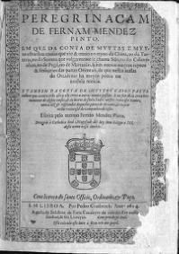 Peregrinação (livro) – Wikipédia, a enciclopédia livre