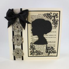 Pick of the day - Entwining Trellis - Pride and Prejudice - a card from Karen Tonic Cards, Tattered Lace Cards, Studio Cards, Birthday Cards For Women, Card Making Supplies, Die Cut Cards, Pride And Prejudice, Blank Cards, My Flower