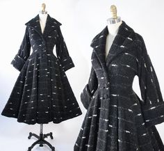 ♦ Vintage 1950s Princess Coat by the Queen of Coats LILLI ANN of San Francisco…