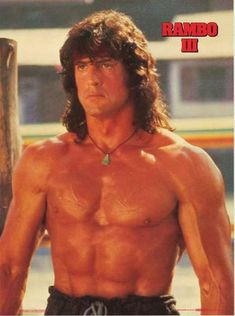 An awesome poster of Hollywood Heavyweight Sylvester Stallone as John J Rambo in the installment of the Rambo film franchise! Action Movie Stars, Action Movies, Silvestre Stallone, Sylvester Stallone Rambo, Rambo 3, Stallone Movies, Stallone Rocky, Best Muscle Building Supplements, Build Muscle Fast