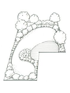 Garden Plans: Illustrations to Inspire : HGTV Gardens