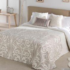 Colcha de Cama KENEO Antilo - Colchas de cama de color Beige - Gauus