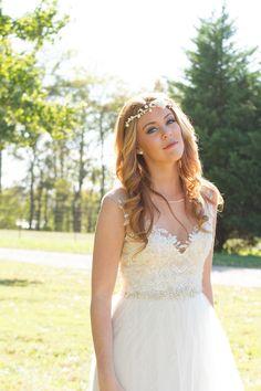 Gown from #GlitzNash @GlitzNash (Adam Sanner Photography) (Hair Kyle Kressin; MUA Tara Thomas; Model Madalyn Vines) (Wilson Family Farm, Tennessee) http://glitznashville.com