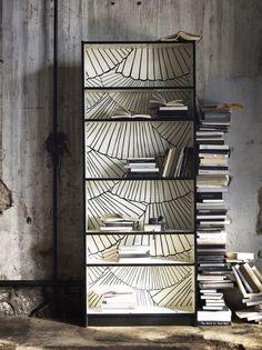 Alte Bücherregale aufpeppen