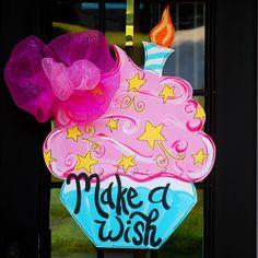 Happy Birthday Door Hanger:
