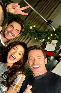 Zendaya hugh Jackman And zac efron