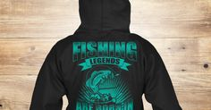 Discover Fishing Legends Are Born In April Sweatshirt, a custom product made just for you by Teespring. With world-class production and customer support, your satisfaction is guaranteed.